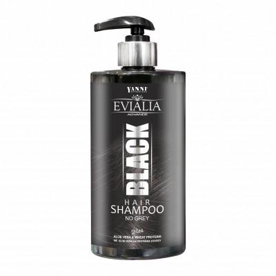 Yanni Black Shampoo Χρωμοσαμπουάν – 500ml